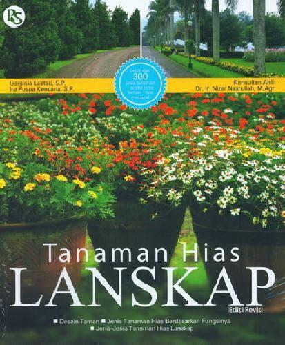 buku tanaman hias lanskap edisi revisi toko buku
