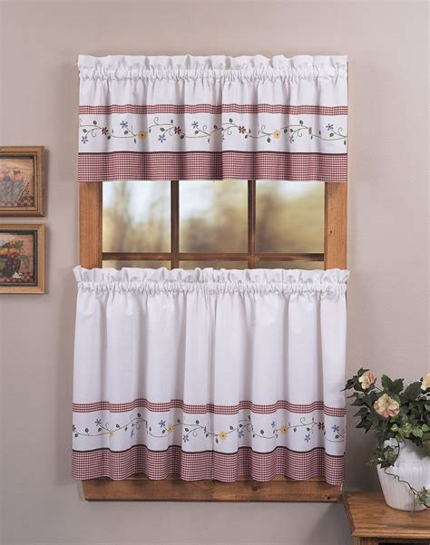 Cafe Curtains For Kitchen Martha Stewart Kitchen Curtains Martha Stewart Curtain Menzilperde Net