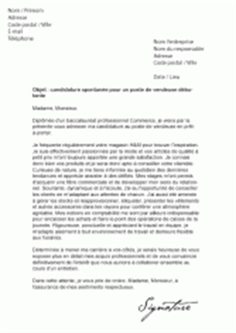 Lettre De Motivation Vendeuse Gemo Mod 232 Les De Lettre De Motivation Pour La Distribution Sp 233 Cialis 233 E