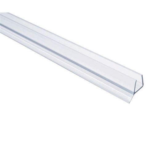 glass shower door seal showerdoordirect 36 in frameless shower door seal with wipe for 3 8 in glass in clear 38ddbs36