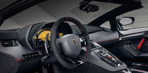 lamborghini aventador interior 2017 lamborghini aventador lp750 4 superveloce roadster