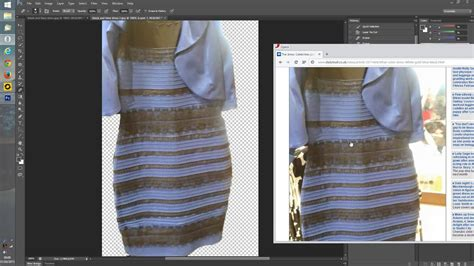 invert color black blue dress inverted colors ilusion