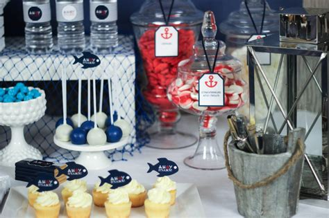 baby shower buffet ideas ahoy nautical baby shower baby shower ideas themes