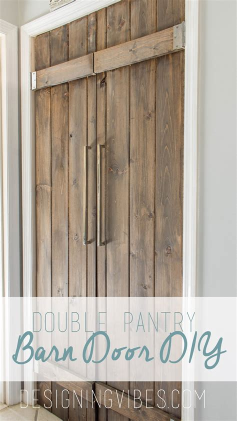 Pantry Closet Doors Pantry Barn Door Diy 90