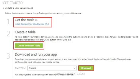 xamarin azure tutorial ตอนท 1 ร จ ก ios c xamarin ios mobile services บน