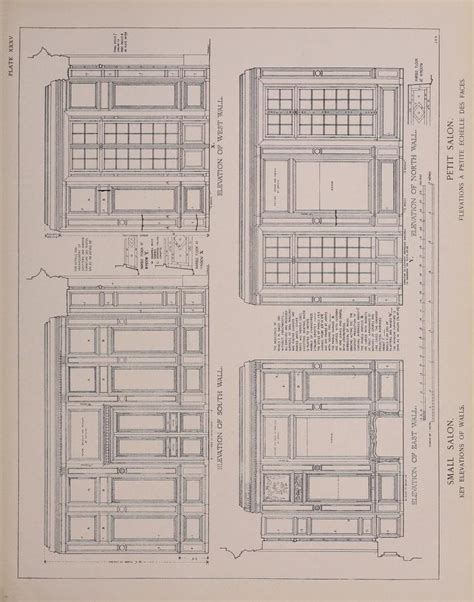petit trianon floor plan 117 best images about hotel particulier on pinterest