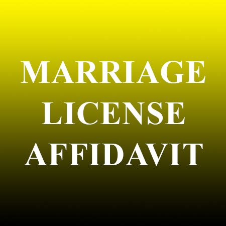 Marriage Records Nv Marriage License Affidavit Records Nv