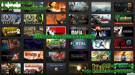 Steam Free Games Giveaway - complete surveys 2013