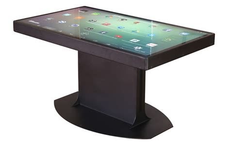android table this coffee table can switch between android and windows no joke