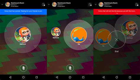 voice chat room list nintendo s solution for voice chat feels half baked