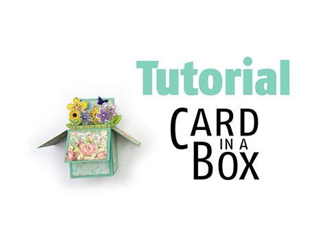 tutorial carding card tutorial gru 223 karte card in a box mit kostenloser vorlage