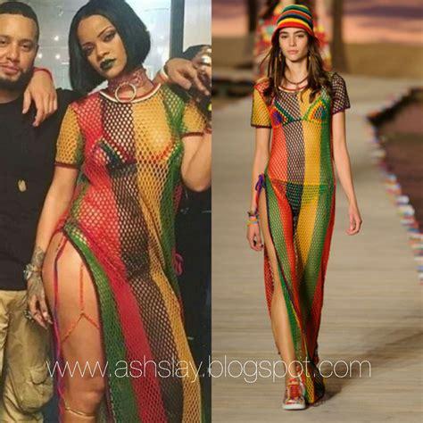 celebrity fashion videos a s h s l a y style breakdown rihanna quot work quot music