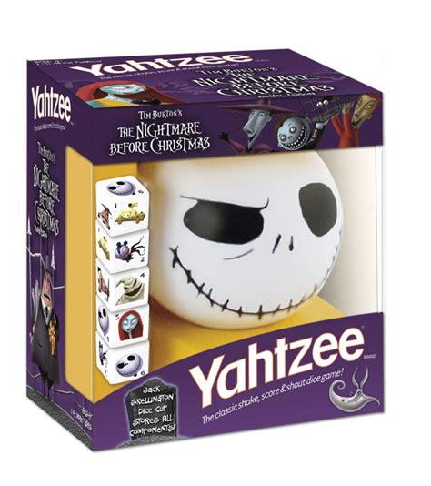 gifts for tim burton fans yahtzee 174 tim burton s the nightmare before christmas