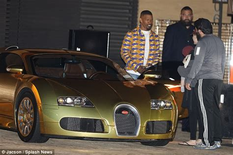 jamie foxx showcases his 163 2 million bugatti veyron