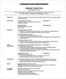 resume template engineering 16 civil engineer resume templates free sles psd