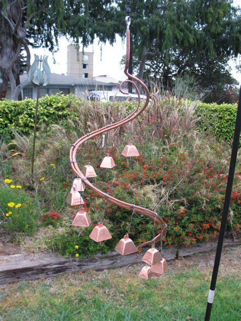 13 crafty diy wind chimes gardens copper and le veon bell