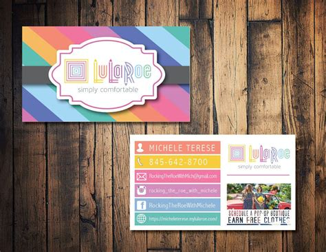 lula roe business card template lularoe business card lularoe calling card lularoe