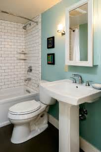 pedestal sink bathroom design ideas 5 creative solutions for small bathrooms hammer