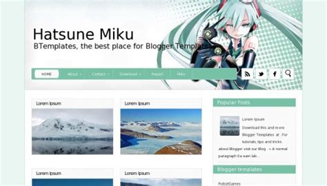 download theme changer line hatsune miku top 10 beautiful adsense optimized blogger templates for 2018