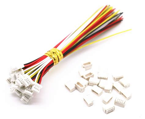 Wire L by 10sets Micro Jst Sh 1 0mm 4 Pin Connector With Wire