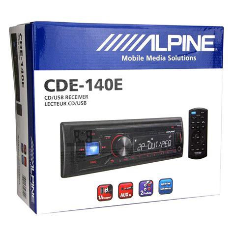 Alpine Cde 140e Like New alpine cde 140e alpine
