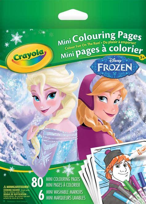 crayola mini coloring pages frozen crayola doodle magic pupitre portatif club jouet achat