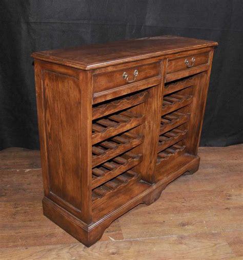 Oak Wine Server Sideboard Buffet Cabinet Cellar Wine Buffet Cabinet