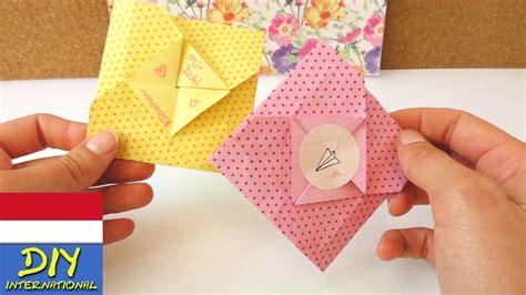 tutorial origami bahasa inggris melipat lop surat origami diy youtube