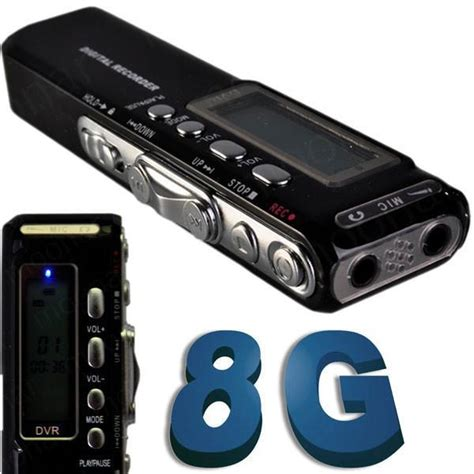 New Usb Digital Voice Recorder 8gb Mp3 Handy Perekam Suara new 8gb digital voice recorder dictaphone phone voice