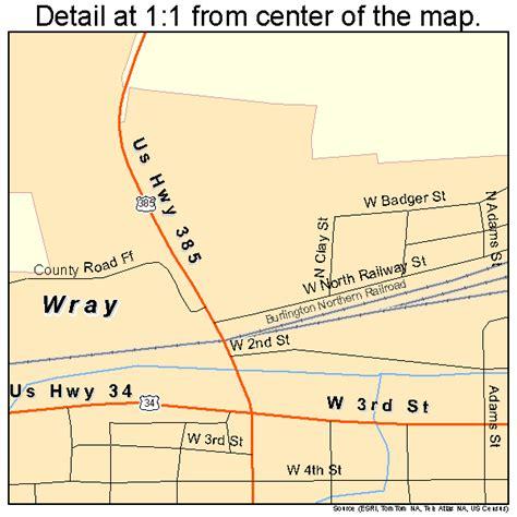 wray colorado map wray colorado map 0886310