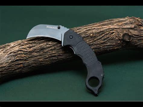 best folding karambit new schrade sch110 liner lock folding knife best liner