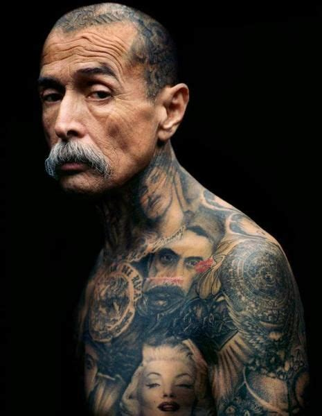 chicano tattoo history freddy negrete mexican gang chicano tattoos