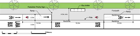 design guidelines for bus stops 5 1 bus stops archives national cycle manual national
