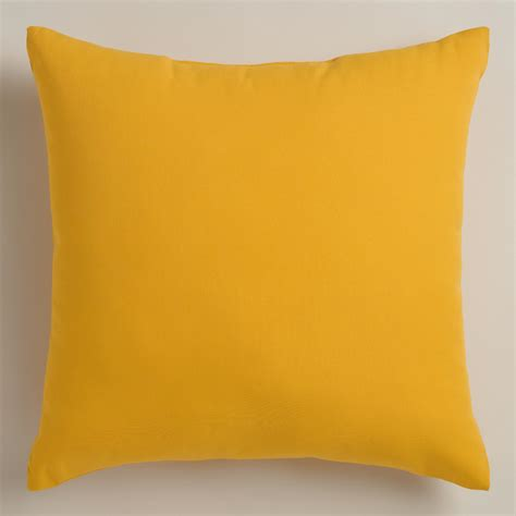 Yellow Pillows For Sofa Yellow Outdoor Throw Pillows World Market