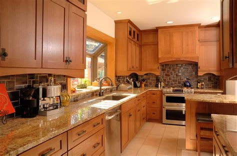 Oak Cabinets Kitchen Design by Kitchens By Design Mauer Kitchen