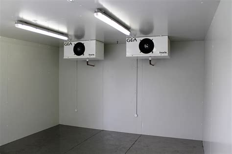 House Room by External Coldroom Chiller Freezer