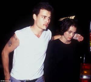 johnny depp winona ryder tattoo jesinta cbell flaunts side with afl beau