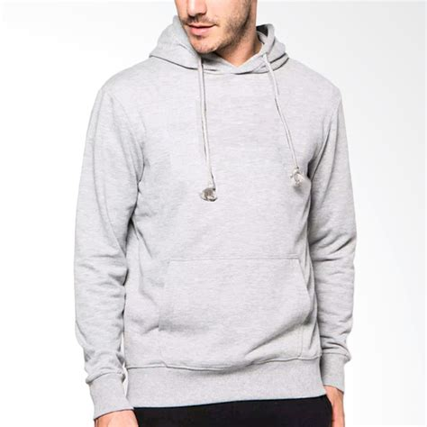 Premium Jaket Hoodie Jumper Polos Pria Berkualitas Abu Turkish jual vm hoodie sweater jaket polos pria abu muda harga kualitas terjamin blibli
