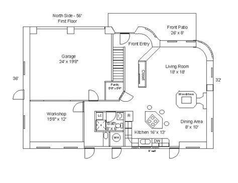 floor plan with roof plan 187 shed roof house floor plans pdf shed plans