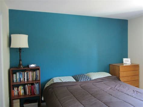 mosaic tile by behr teal paint color bedroom accent wall like enamel color me