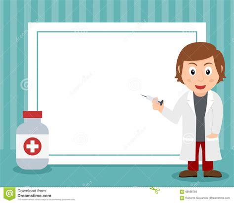 Illustrasi Frame frame clipart doctor pencil and in color frame clipart