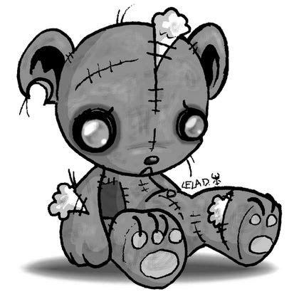 tattoovorlage cartoon super cute emo teddy bear tattos i like or want