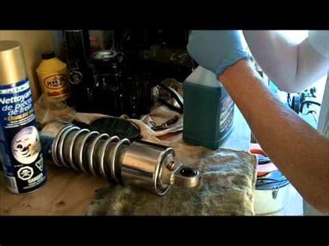 Shockbreaker Futura refilling rear motorcycle shocks