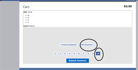 making quiz php php hide next button for last quiz in quiz application