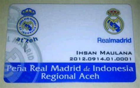 membuat id card real madrid real madrid id card