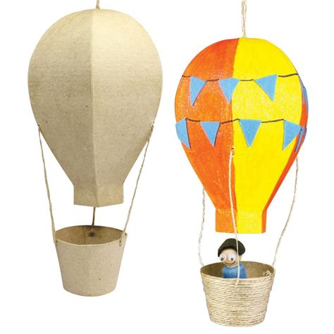 How Do You Make Paper Balloons - papier mache air balloon cleverpatch