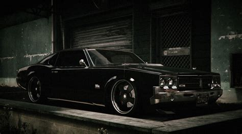 stanced muscle cars post your best stanced cars gta online gtaforums