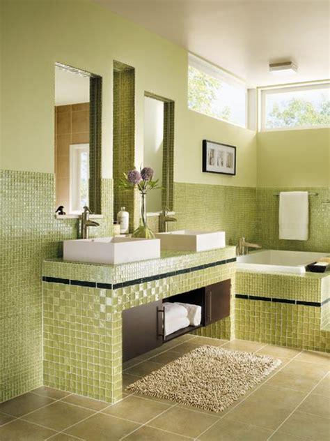 green bathroom tiles design art decoration interior design ideas latest home design