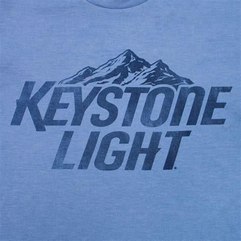 Keystone Light by Keystone Light Basic Logo T Shirt Wearyourbeer