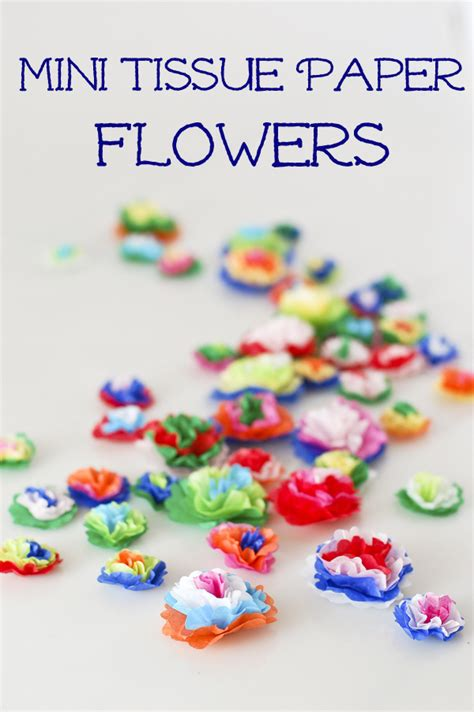 How To Make Mini Paper Flowers - 25 diy cinco de mayo crafts andrea s notebook